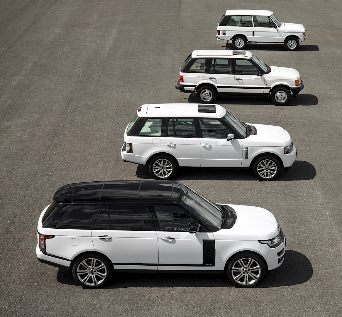 Range Rover SUV Celebrates Its 45th Birthday Today, Land