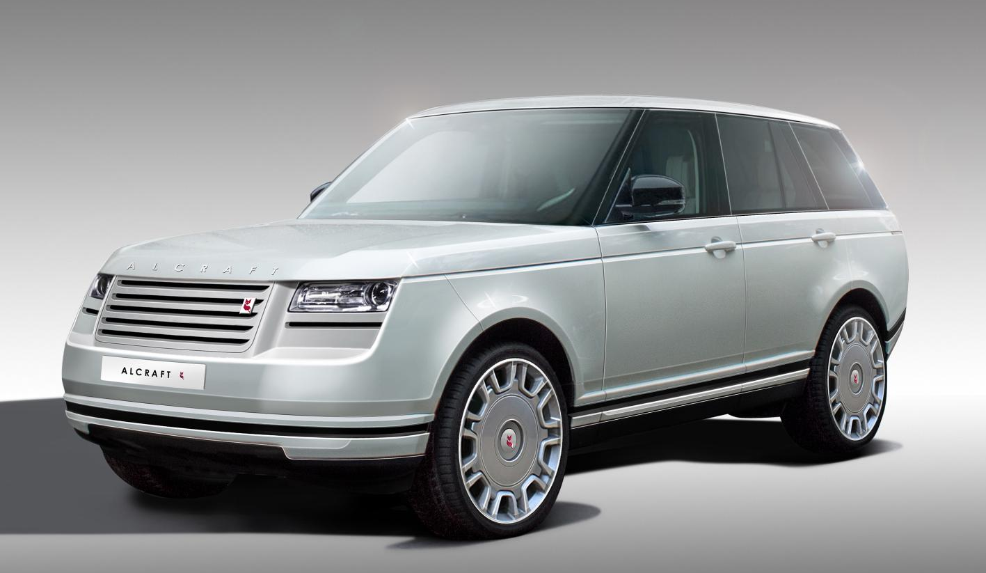 Range Rover SUV Redesigned by British Coachbuilder Alcraft