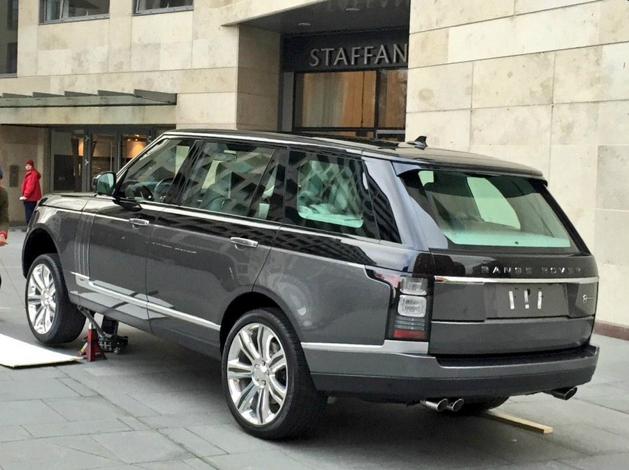 Range Rover Ultra-Luxury Model Will Purportedly Debut at ...