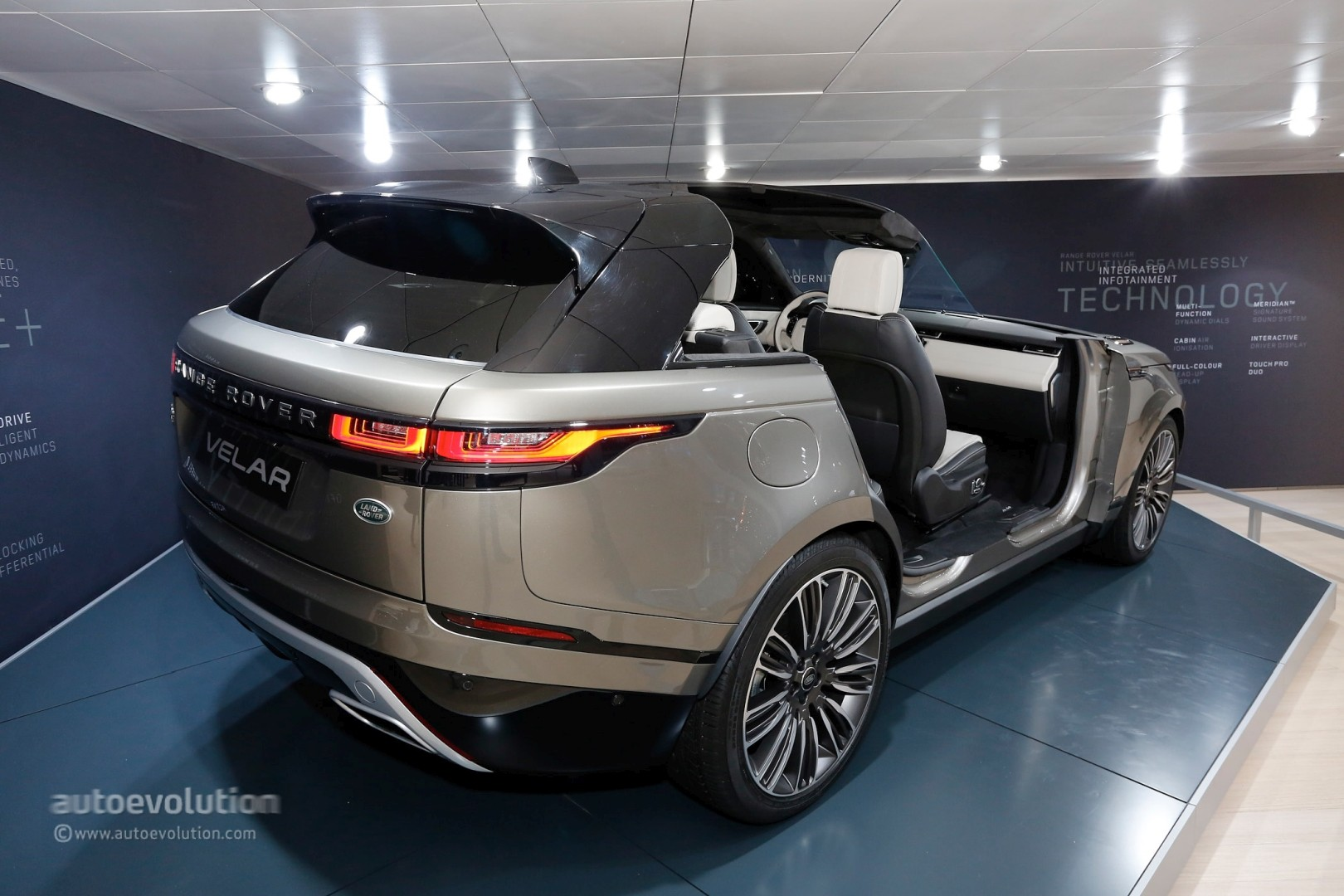 Range rover velar convertible rendering looks like a luxury boat autoevolution