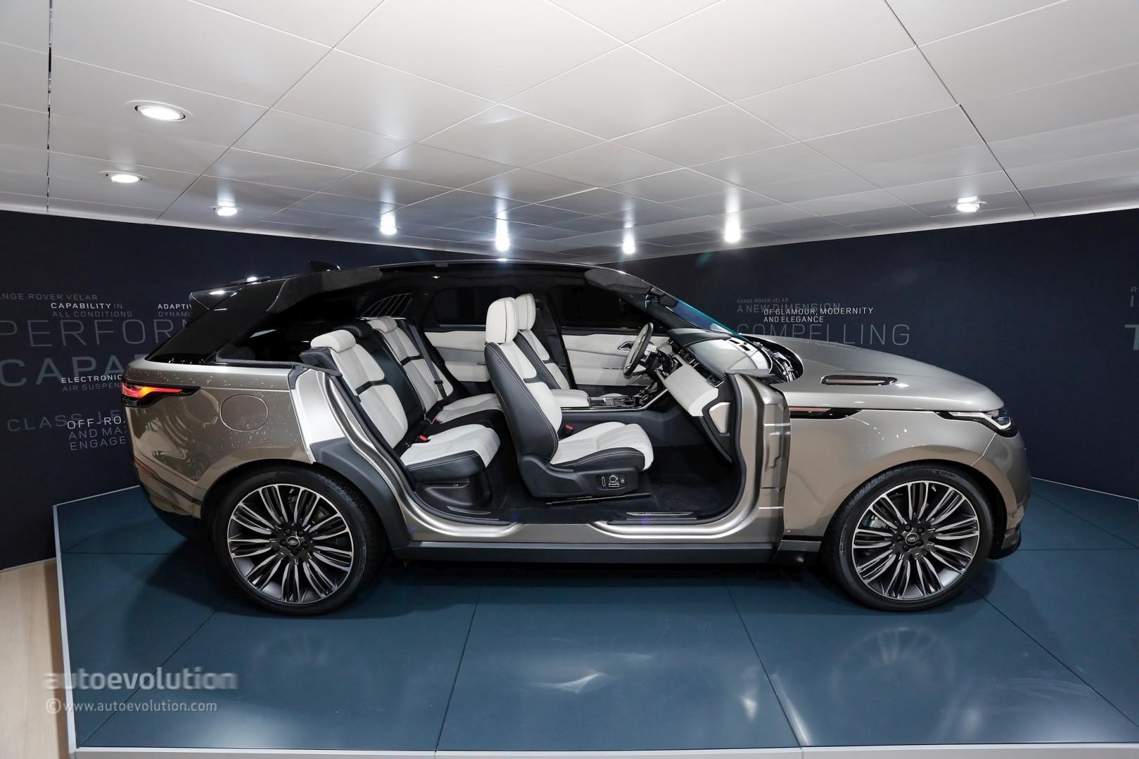 Land Rover Evoque Convertible >> Range Rover Velar Convertible Rendering Looks Like a Luxury Boat - autoevolution
