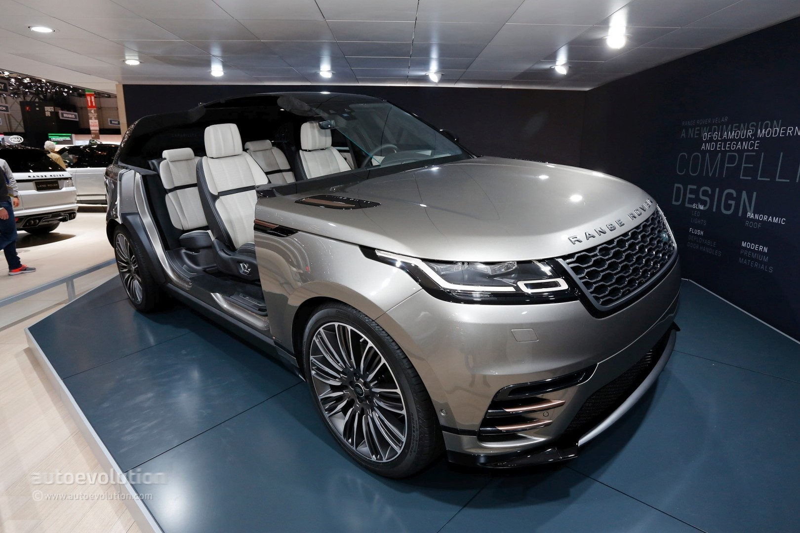 Range Rover Sport Supercharged >> Range Rover Velar Convertible Rendering Looks Like a Luxury Boat - autoevolution