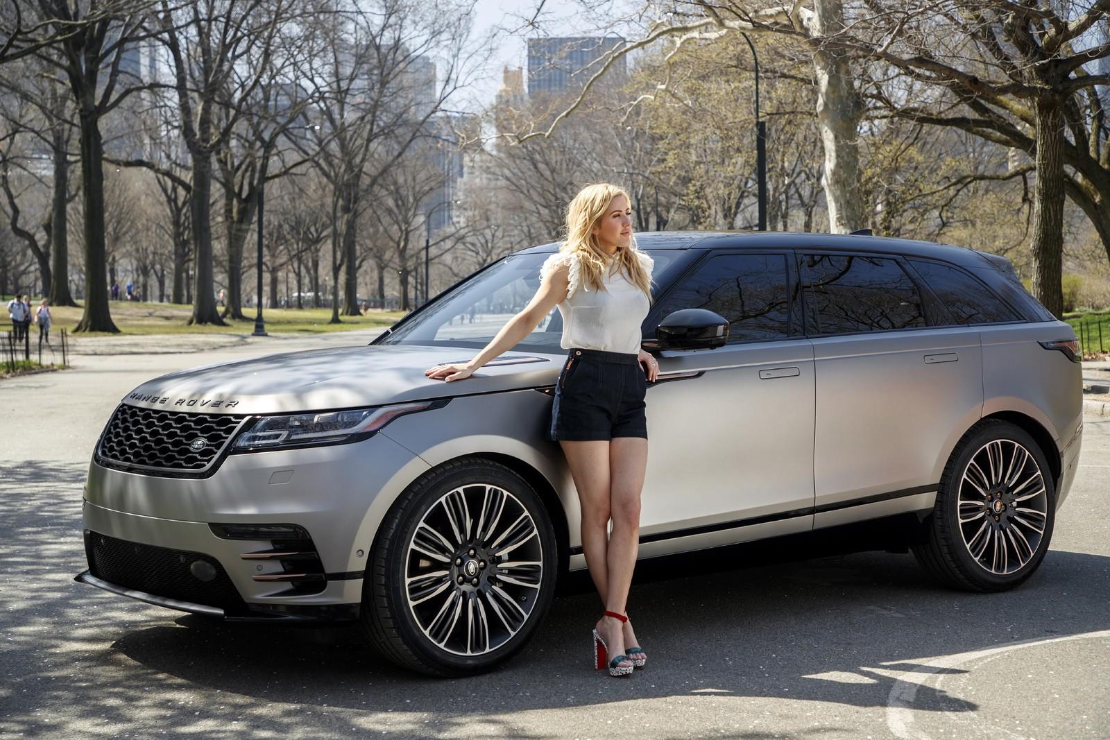 Ford Edge Dimensions >> Range Rover Velar New York Debut Features Ellie Goulding - autoevolution