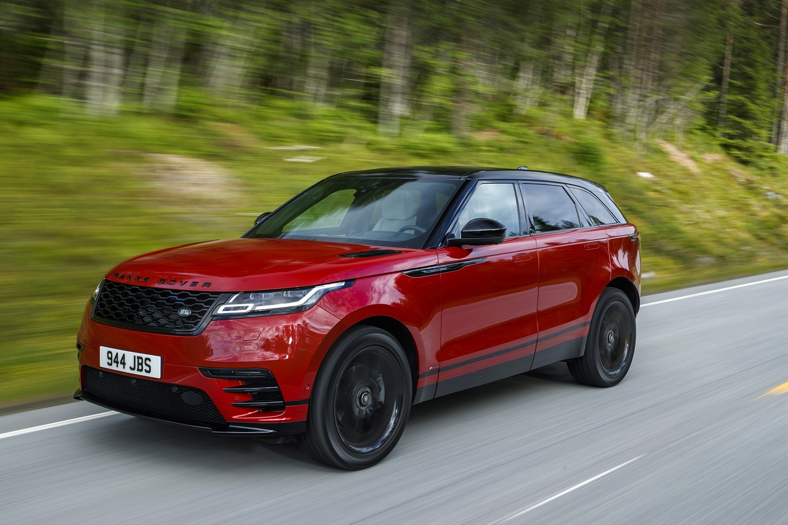 The Red Suv You Want Range Rover Velar R Dynamic Hse Black Pack