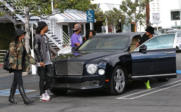 Rapper Lil Twist Keeps It Cool In A Bentley Mulsanne