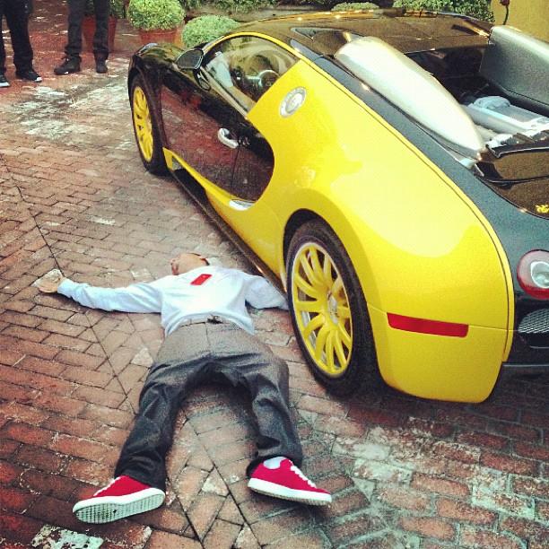 rapper the game shows off new bugatti veyron autoevolution - Bugatti 2016 Gold