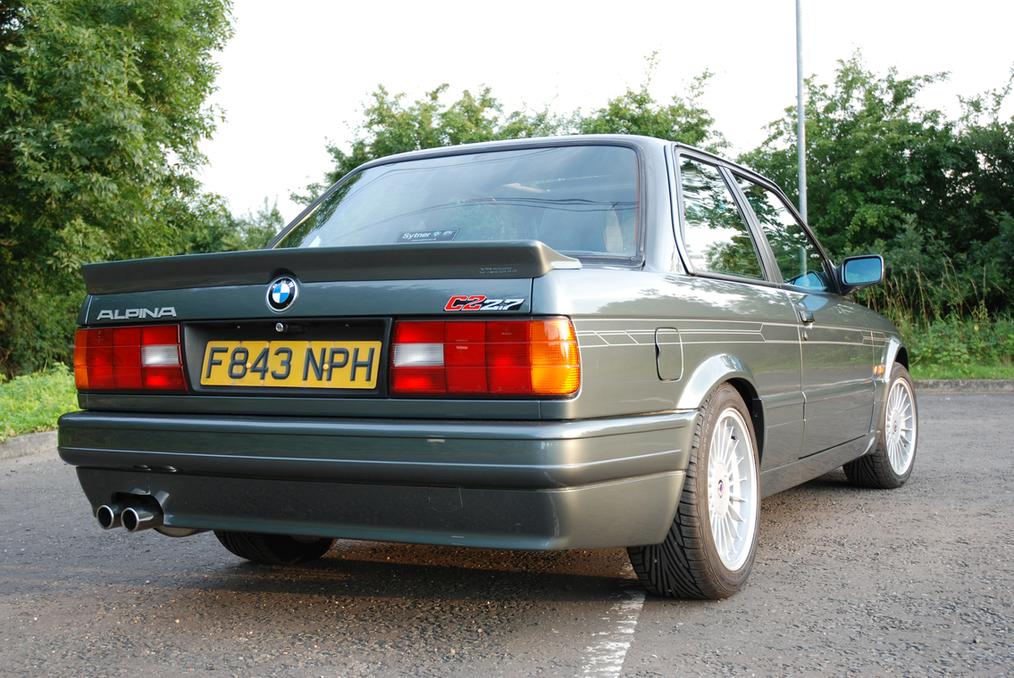 Rare 1988 E30 Alpina C2 2.7 to Go Under the Hammer on April 12 ...