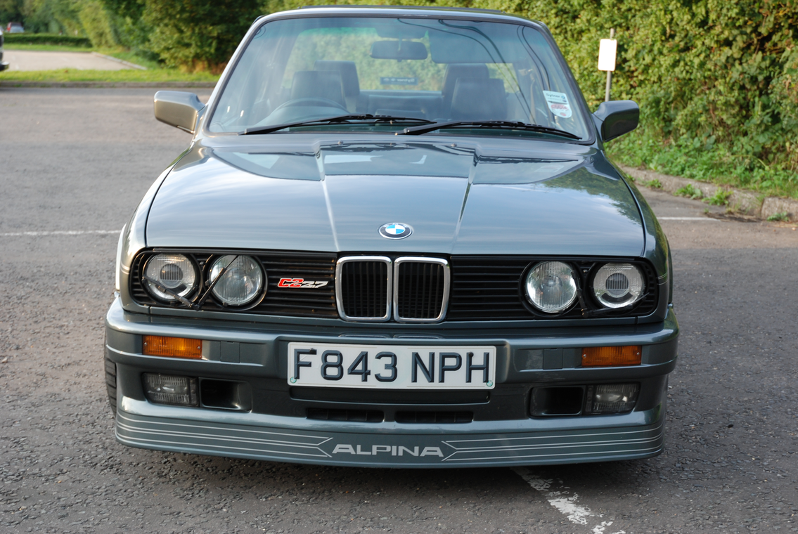 Rare 1988 E30 Alpina C2 2 7 To Go Under The Hammer On