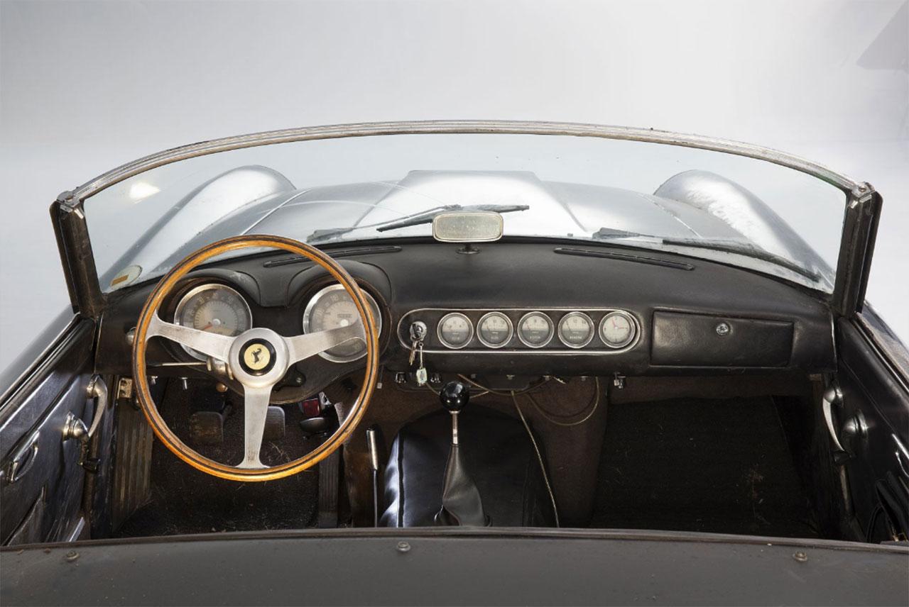 Rare Ferrari 250GT California Spider Owned by Alain Delon ...