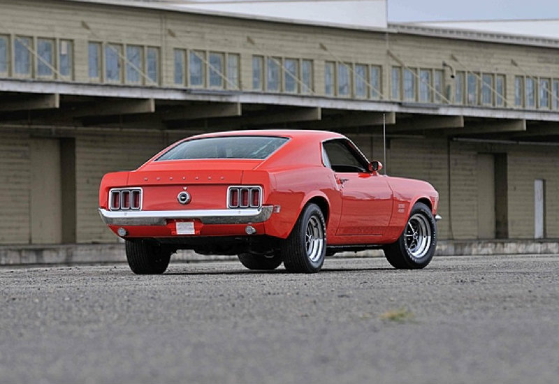 Rare Ford Mustang Boss Going Under The Hammer Photo Gallery