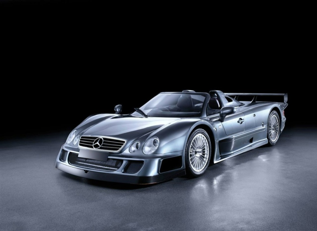 Rare mercedes benz clk gtr coupe and roadster up for for Mercedes benz auction