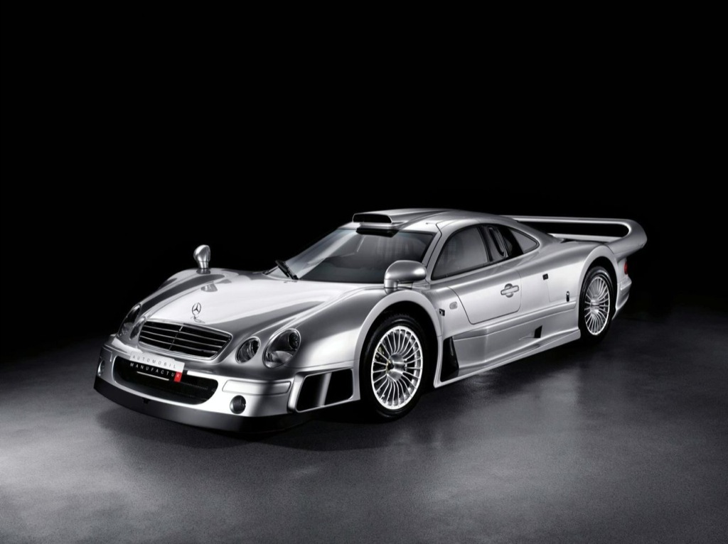 Rare Mercedes-Benz CLK GTR Coupe and Roadster Up for Auction