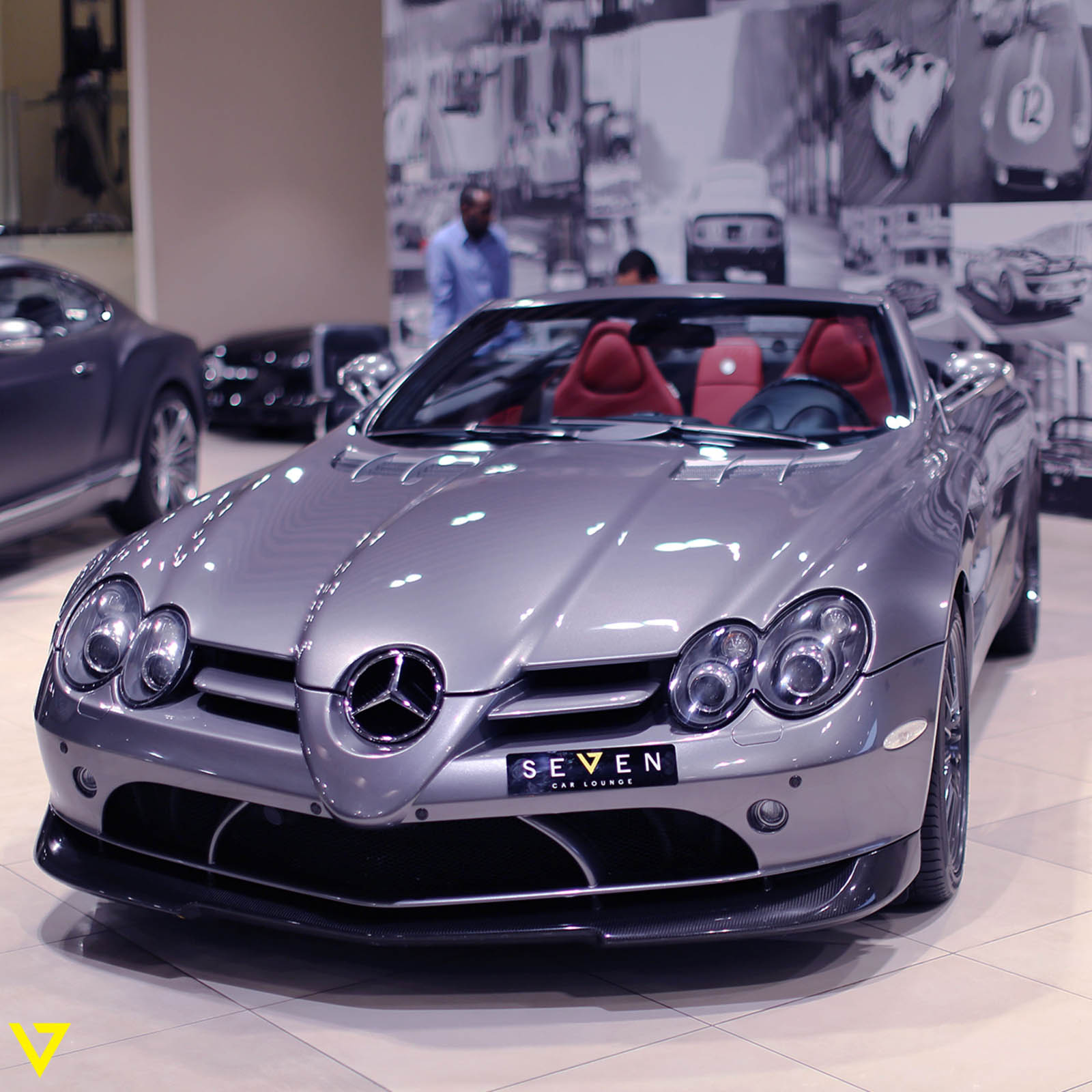 Rare mercedes benz slr mclaren roadster 722 s could be for Mercedes benz slr