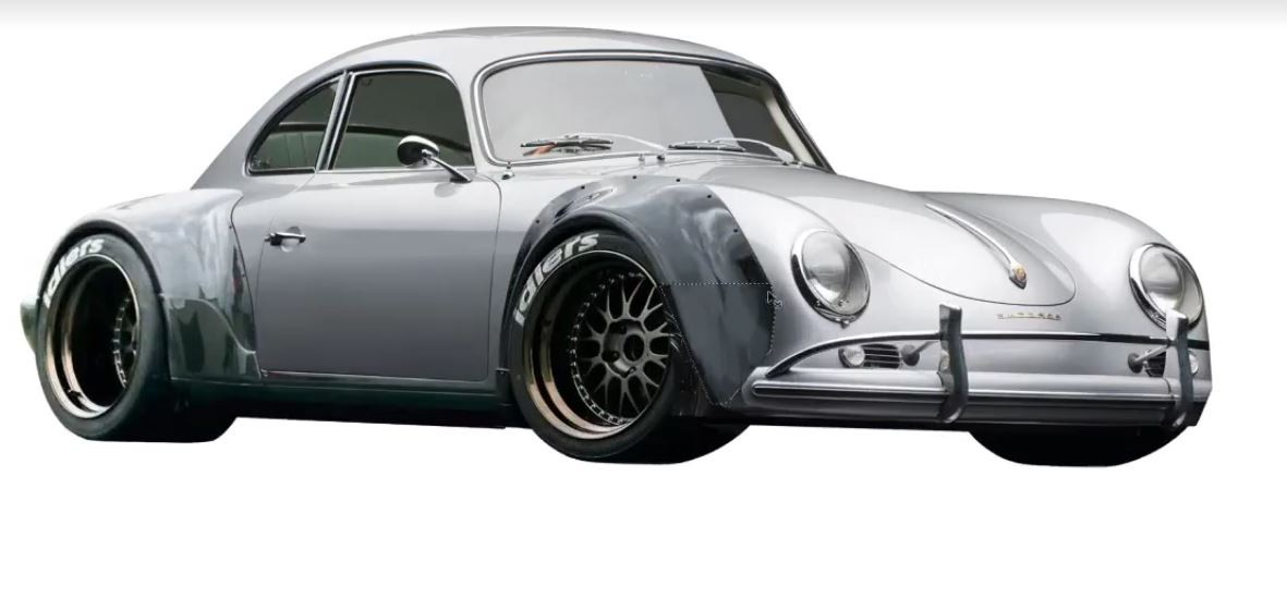 Rauh-Welt Begriff Porsche 356 Rendering Is Prepared to ...