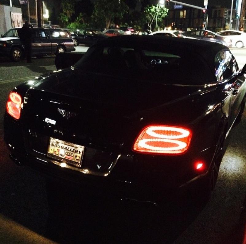 Bentley Gtc Convertible He He He: Ray J Buys Ferrari 458, Bentley GTC For Girlfriend