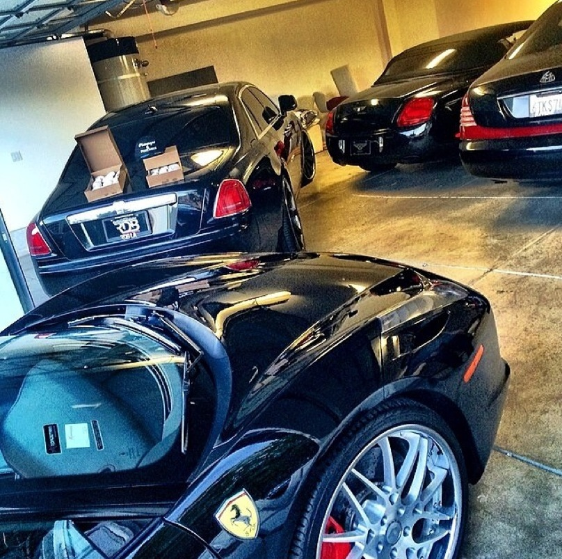 Ray J Buys Ferrari 458 Bentley Gtc For Girlfriend