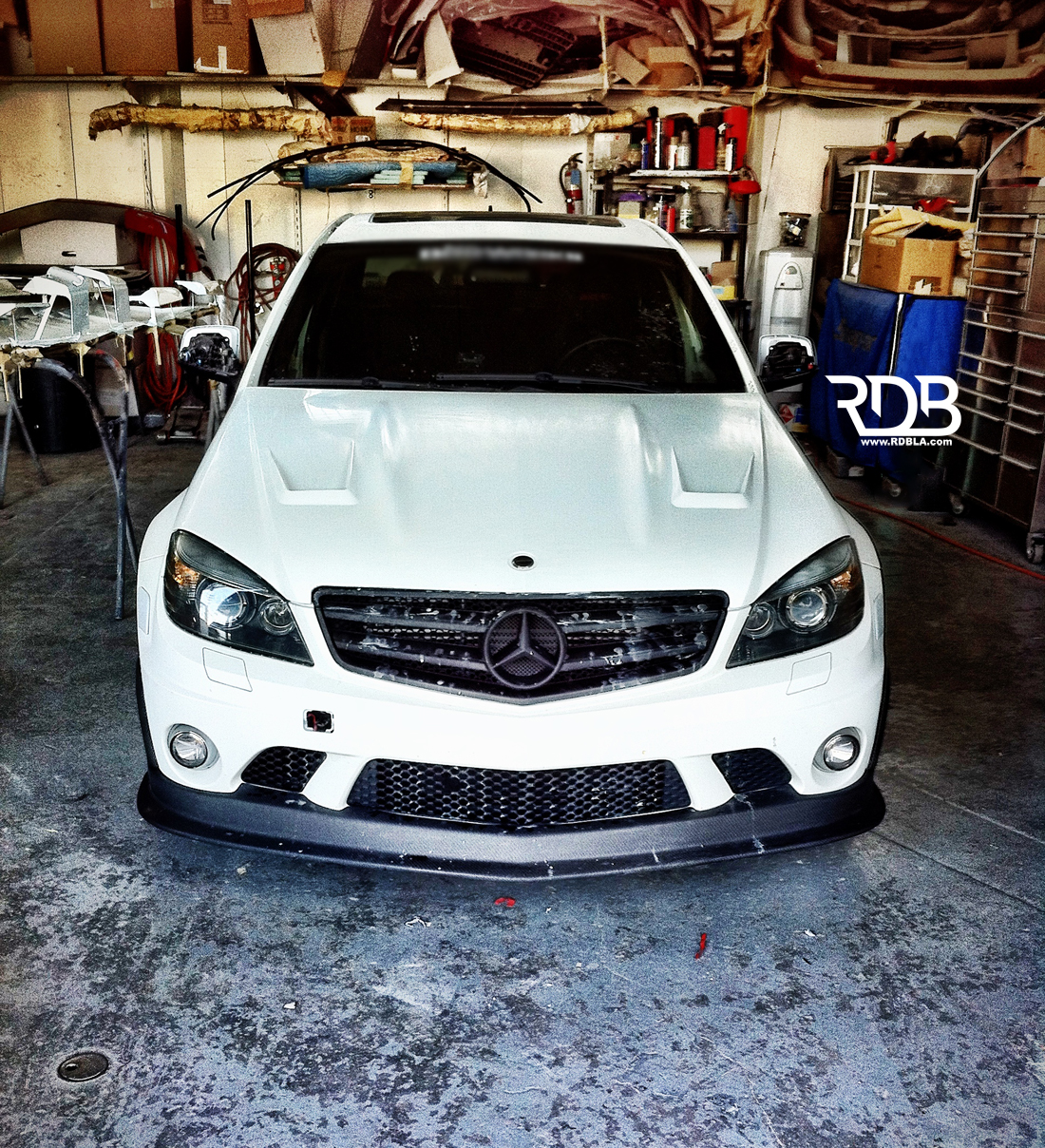 RBD LA Mercedes C63 AMG Widebody Build - autoevolution