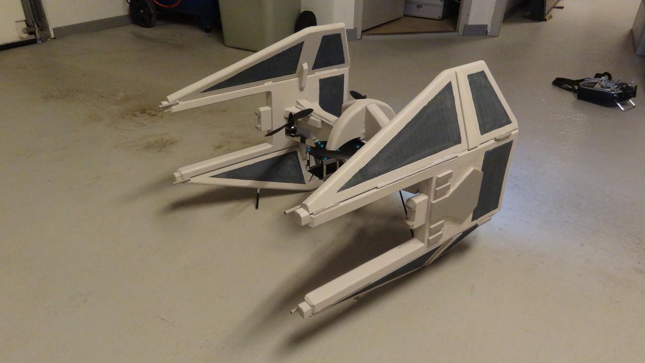 Rc Tie Fighter Brings Out Your Inner Star Wars Geek