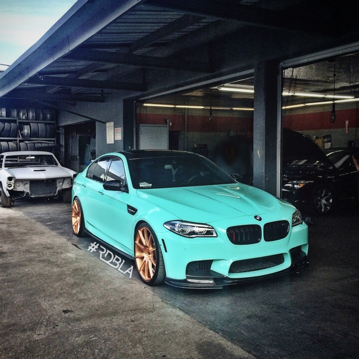 RDB LA Squeezed 660 HP From This Wicked BMW M5