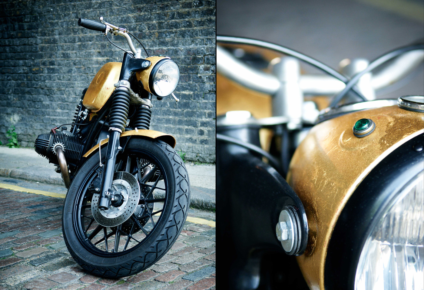 Real Gold for Untitled Motorcycles BMW R80/7 - autoevolution