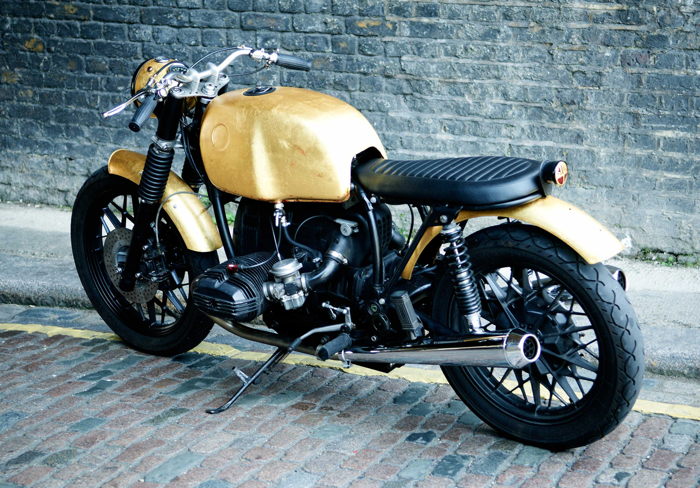 Real Gold for Untitled Motorcycles BMW R80 7 autoevolution