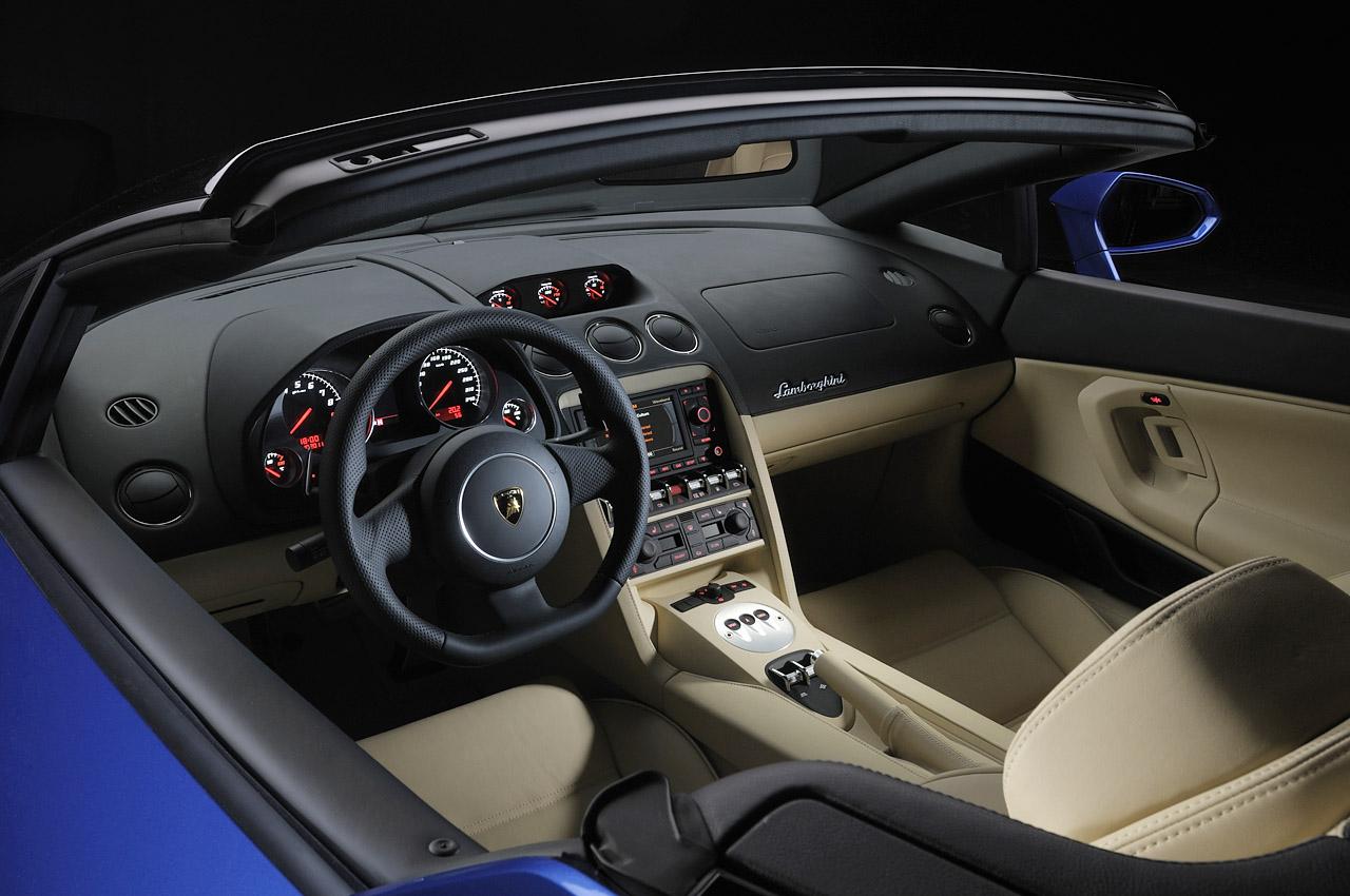 Rear Drive 2012 Lamborghini Gallardo Lp550 2 Spyder Unveiled