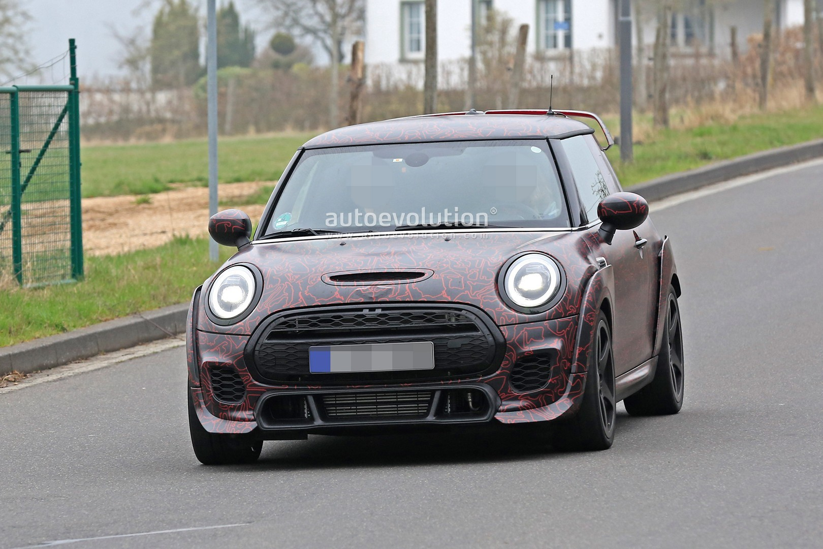 Watch The Mini Jcw Gp In A Wind Tunnel Autoevolution