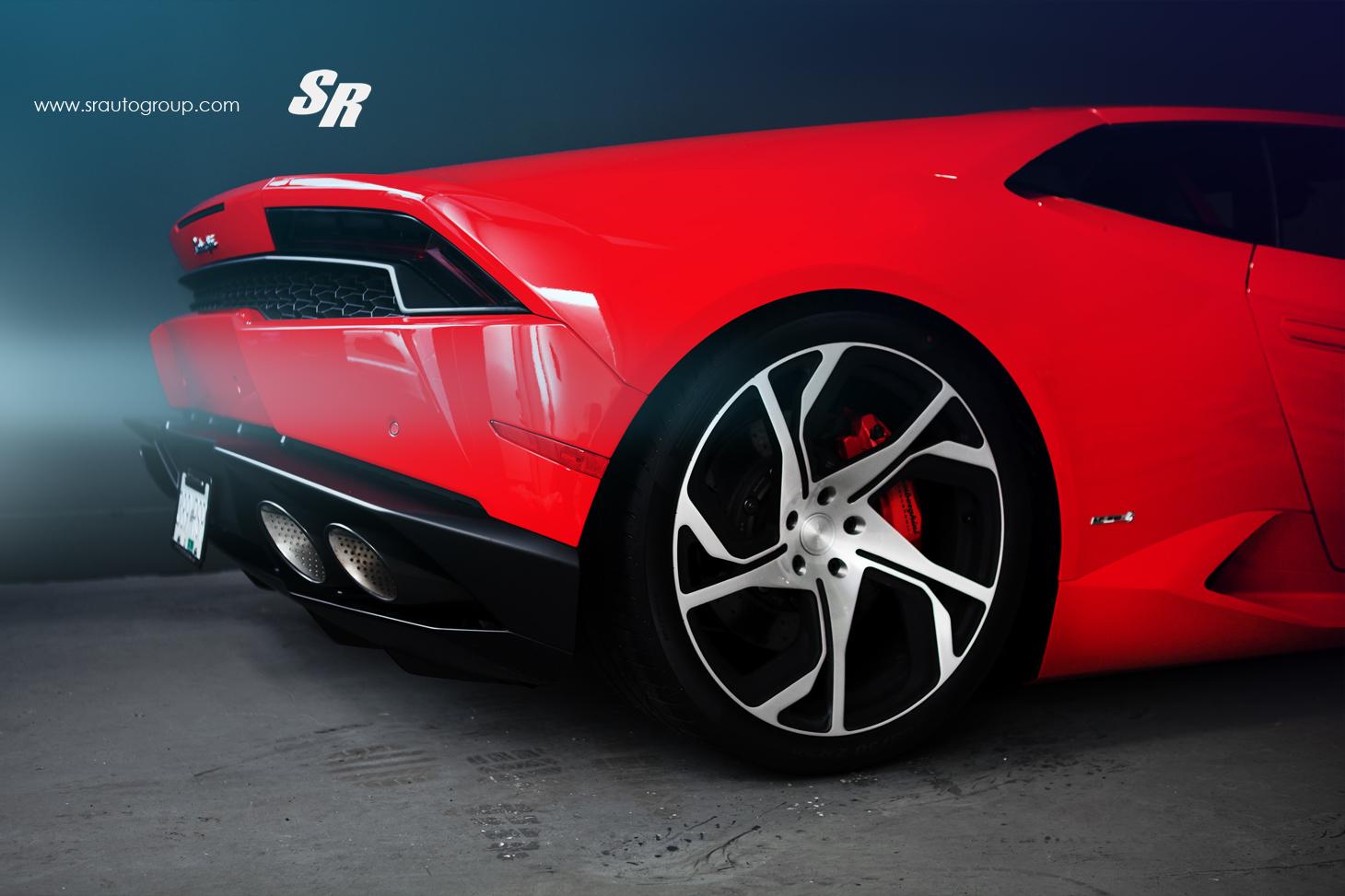 Second Chance Auto >> Red Lamborghini Huracan Gets PUR RS12 Wheels - autoevolution