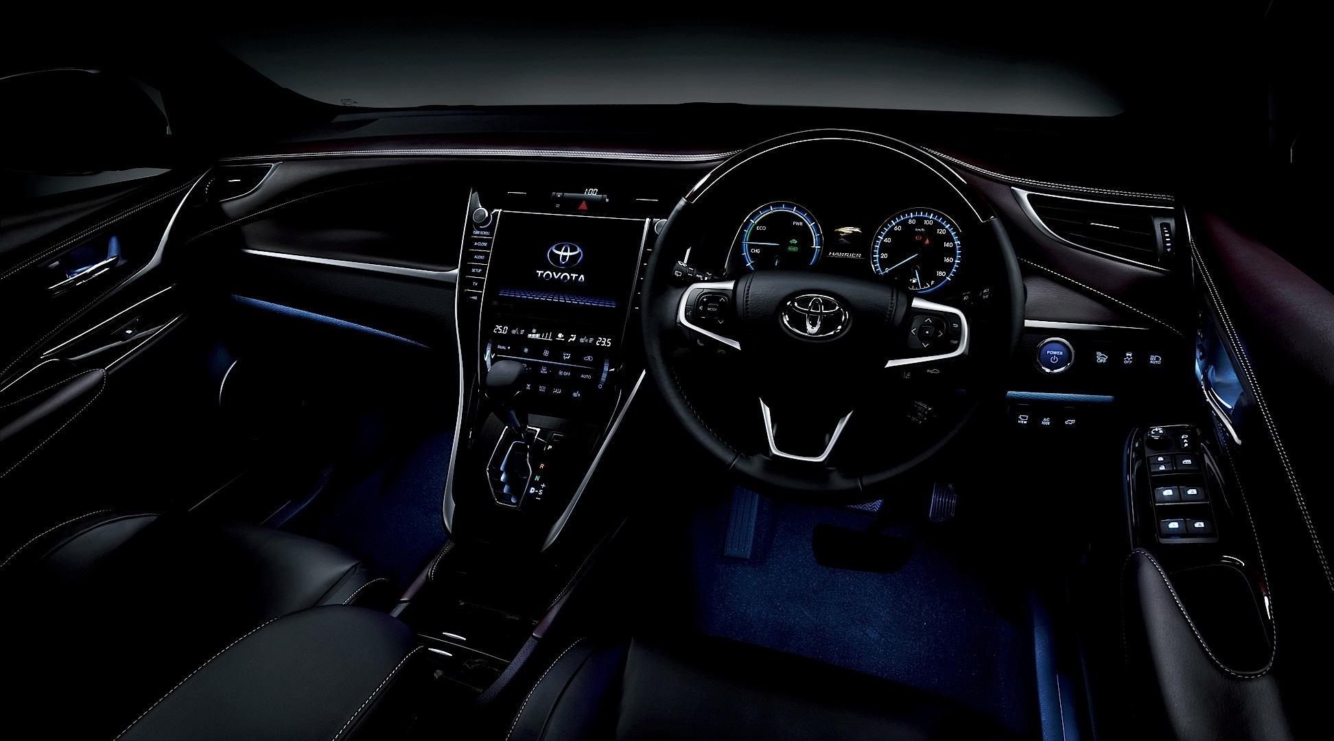 Redesigned toyota harrier launching in japan autoevolution