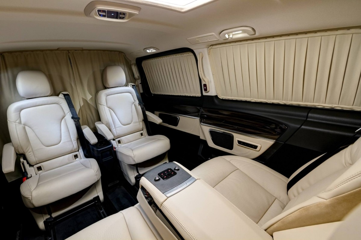 Redline Engineering Ignores The Bmw Vs Mercedes Benz Rivalry Mixes V Class Interior