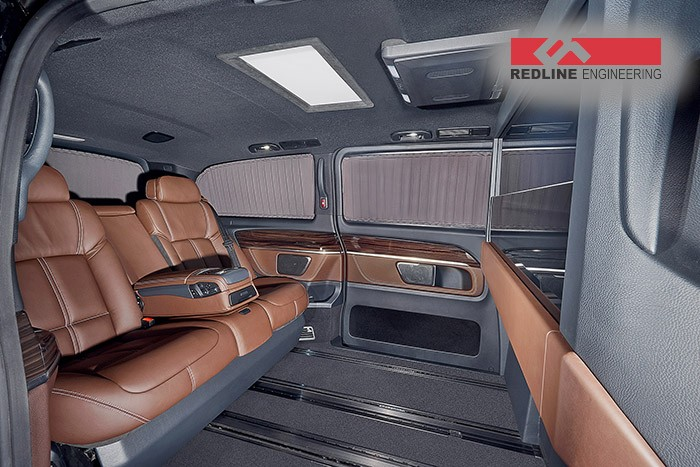 Redline Engineering S V Class Has Bmw 7 Series Seats