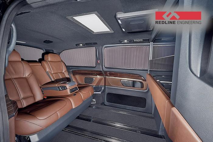 Redline Engineering's V-Class Has BMW 7 Series Seats