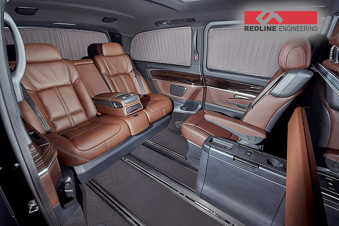 Mercedes Marco Polo 2008 >> Redline Engineering's V-Class Has BMW 7 Series Seats Inside - autoevolution