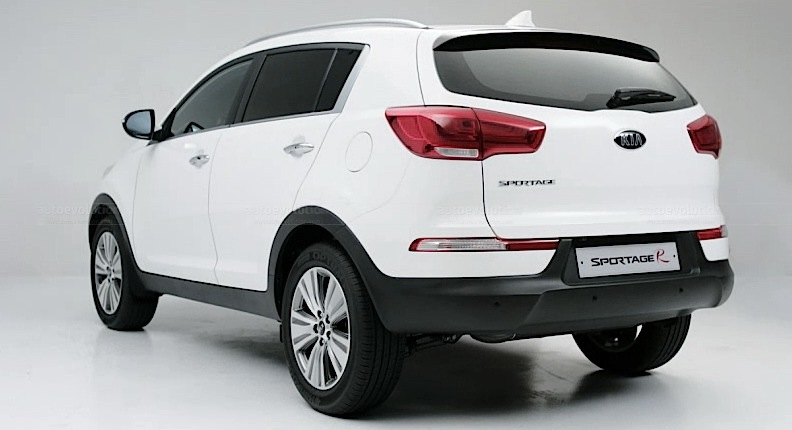 Refreshed Kia Sportage R Debuts in Korea  autoevolution