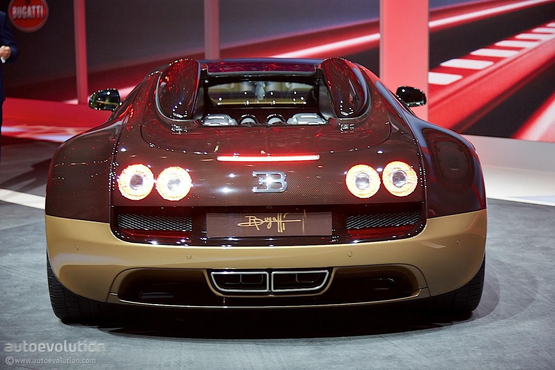 Bugatti Decorates Geneva With Veyron Rembrandt Live