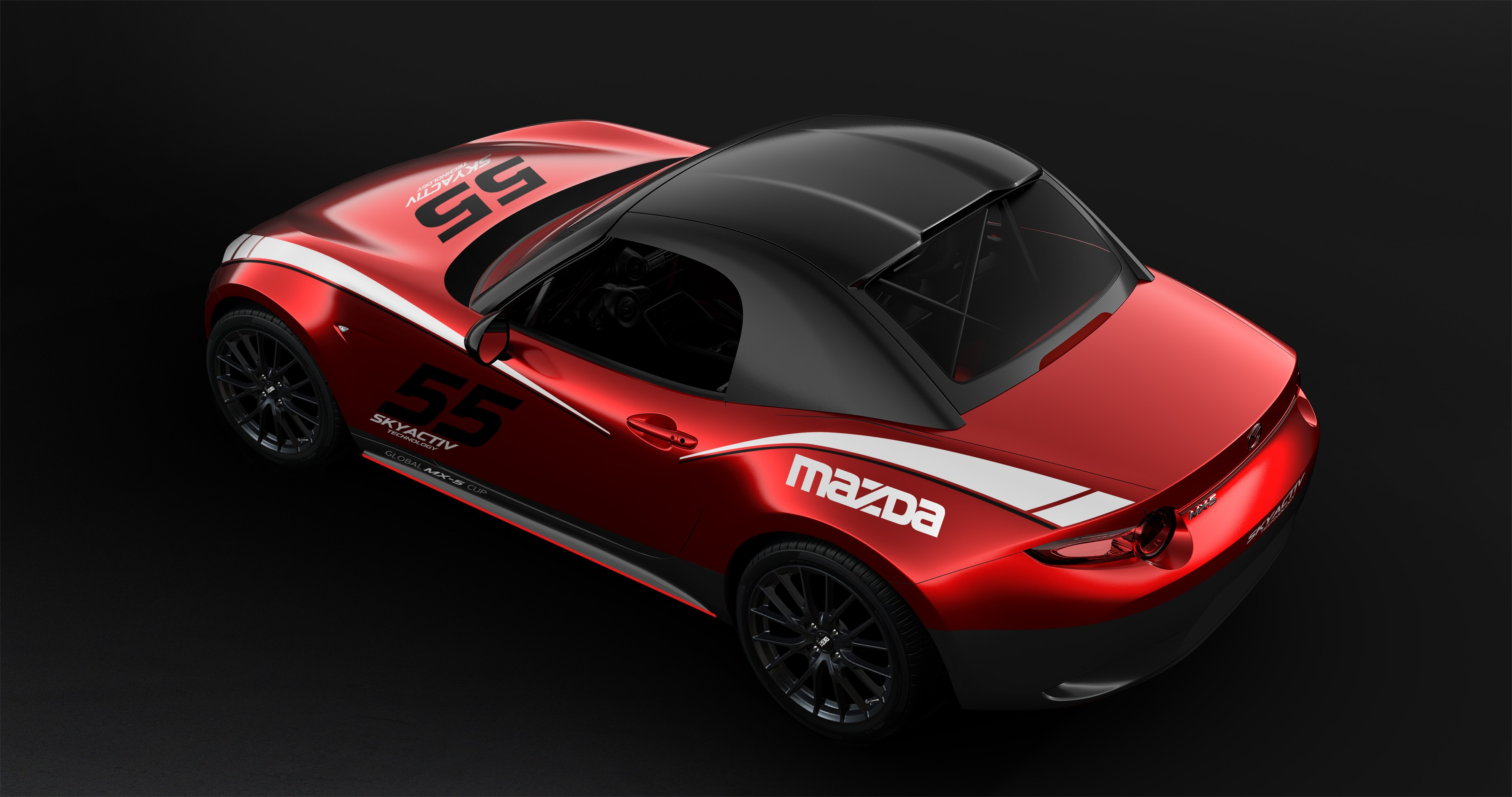2017 mazda mx 5 cup with removable hardtop