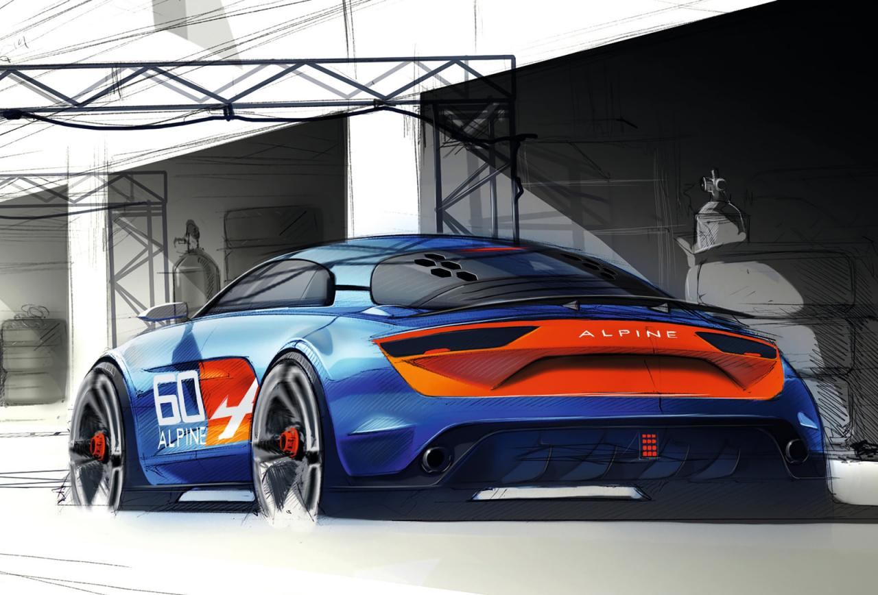 renault alpine celebration concept takes a bow in le mans