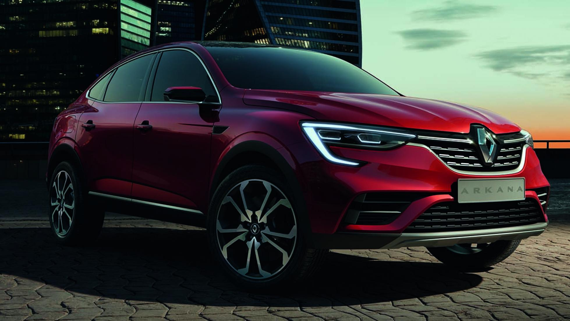 Renault Arkana Study Previews Poor Man's X4, Is Not For Europe