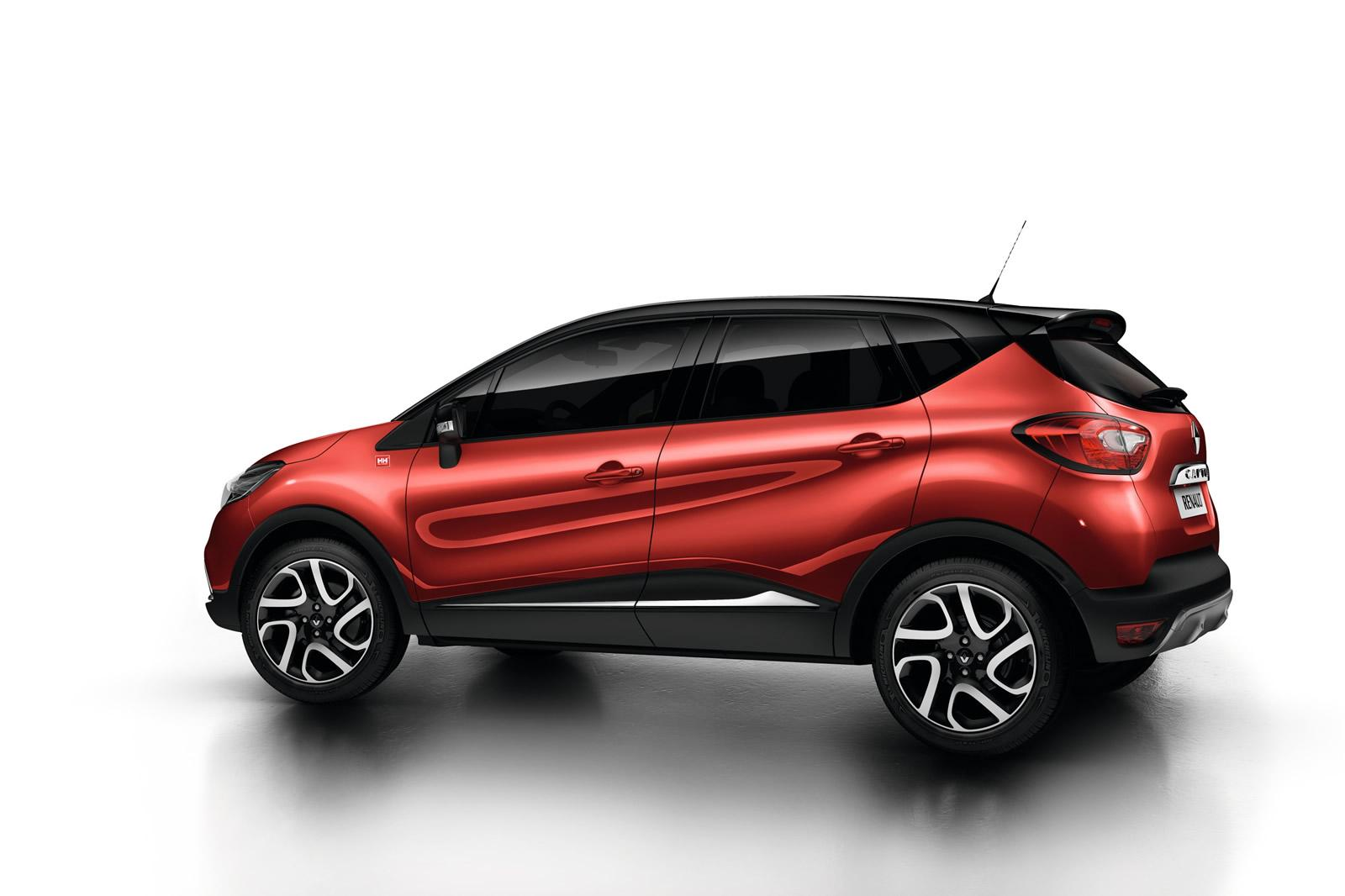 renault captur gets flame red paint and extended grip system autoevolution. Black Bedroom Furniture Sets. Home Design Ideas