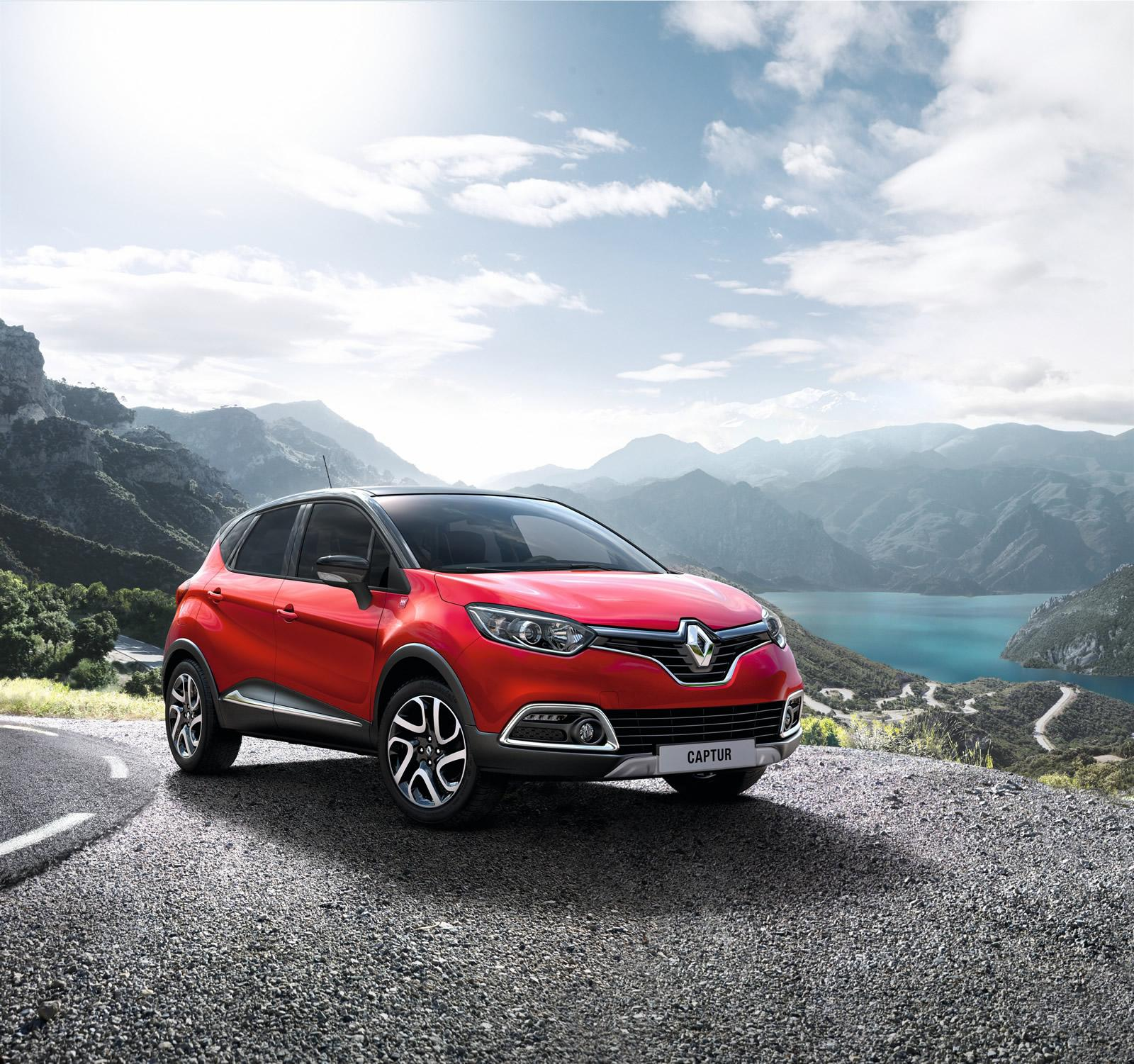 Renault Captur Gets Flame Red Paint and Extended Grip ...