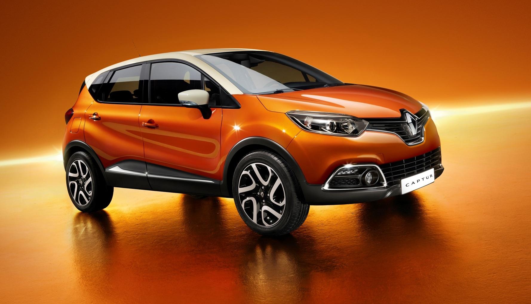 Renault Captur 2014 Interior Renault Captur 2014