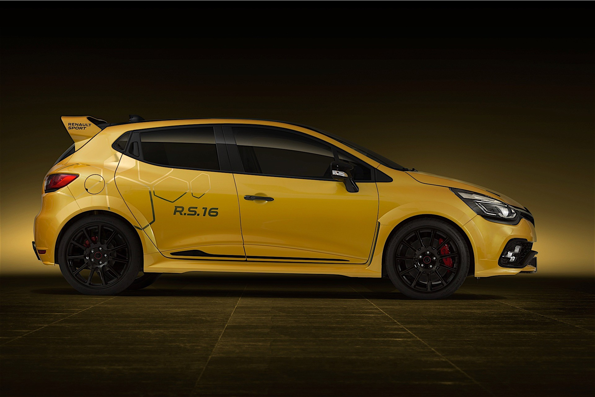 renault unveils 275 hp clio rs 16 concept to celebrate its return to f1 autoevolution. Black Bedroom Furniture Sets. Home Design Ideas