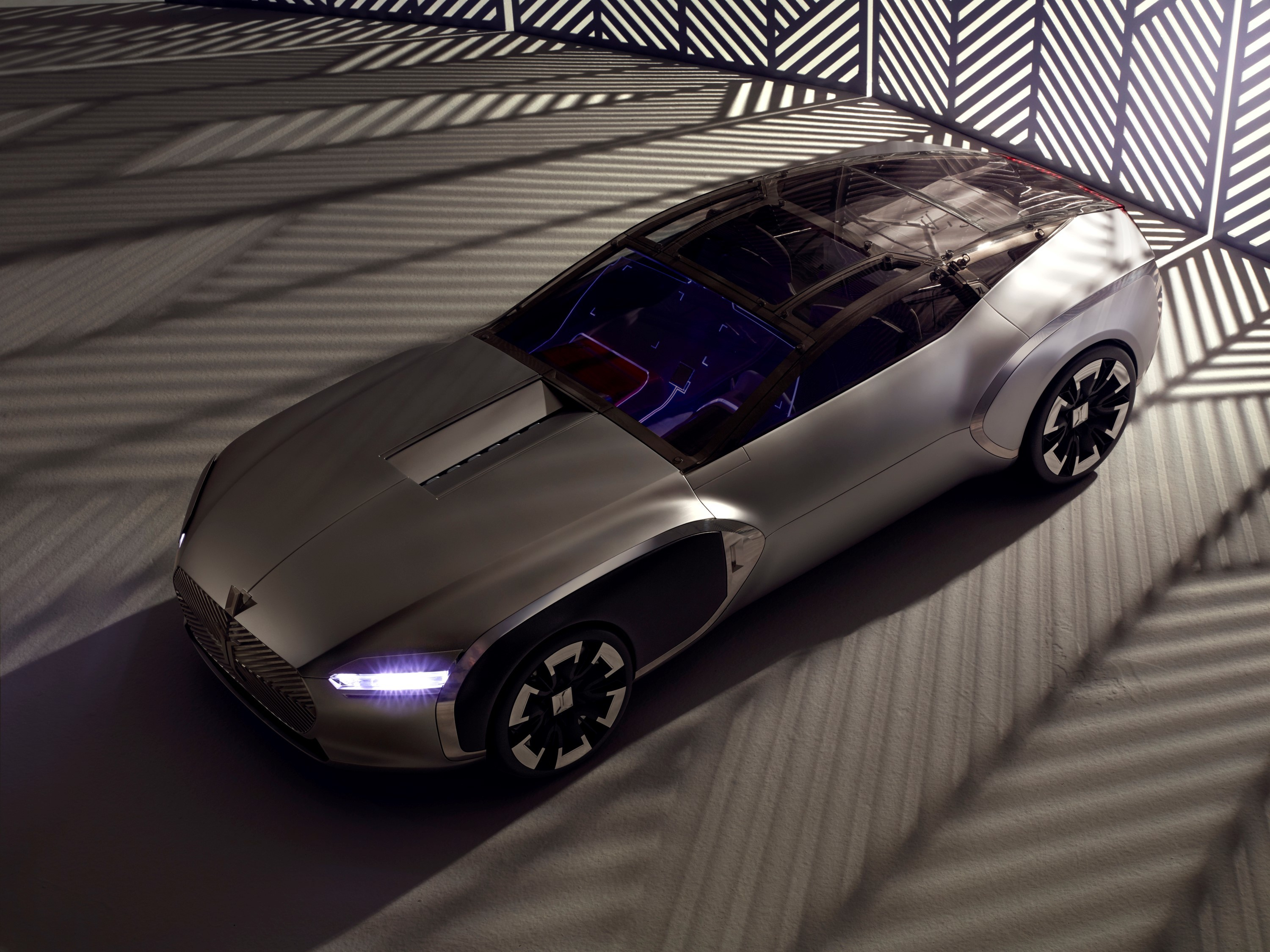 Renault coupe corbusier concept shows how the french for Concept piscine
