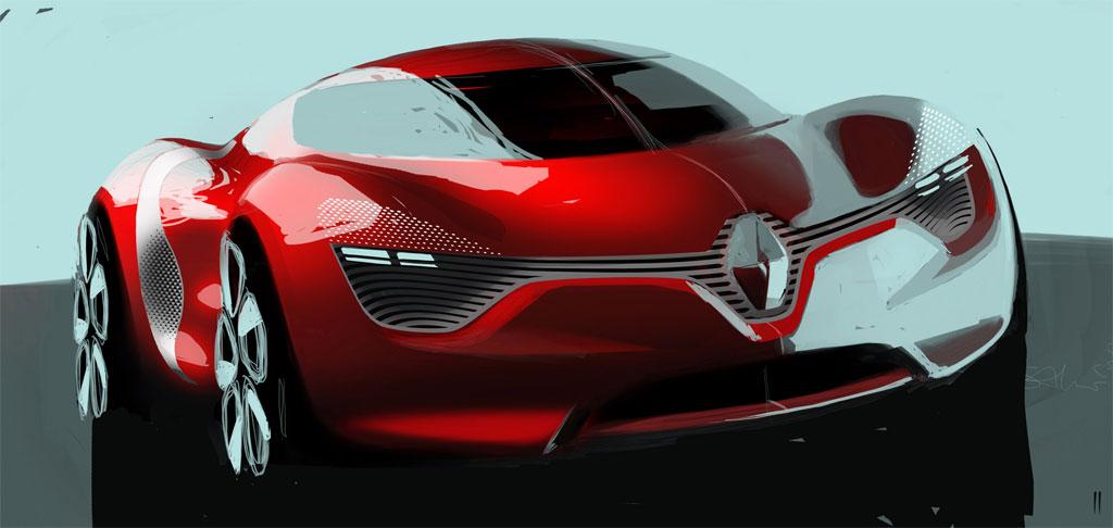 Renault DeZir Concept Unveiled Ahead of Paris Auto Show ...
