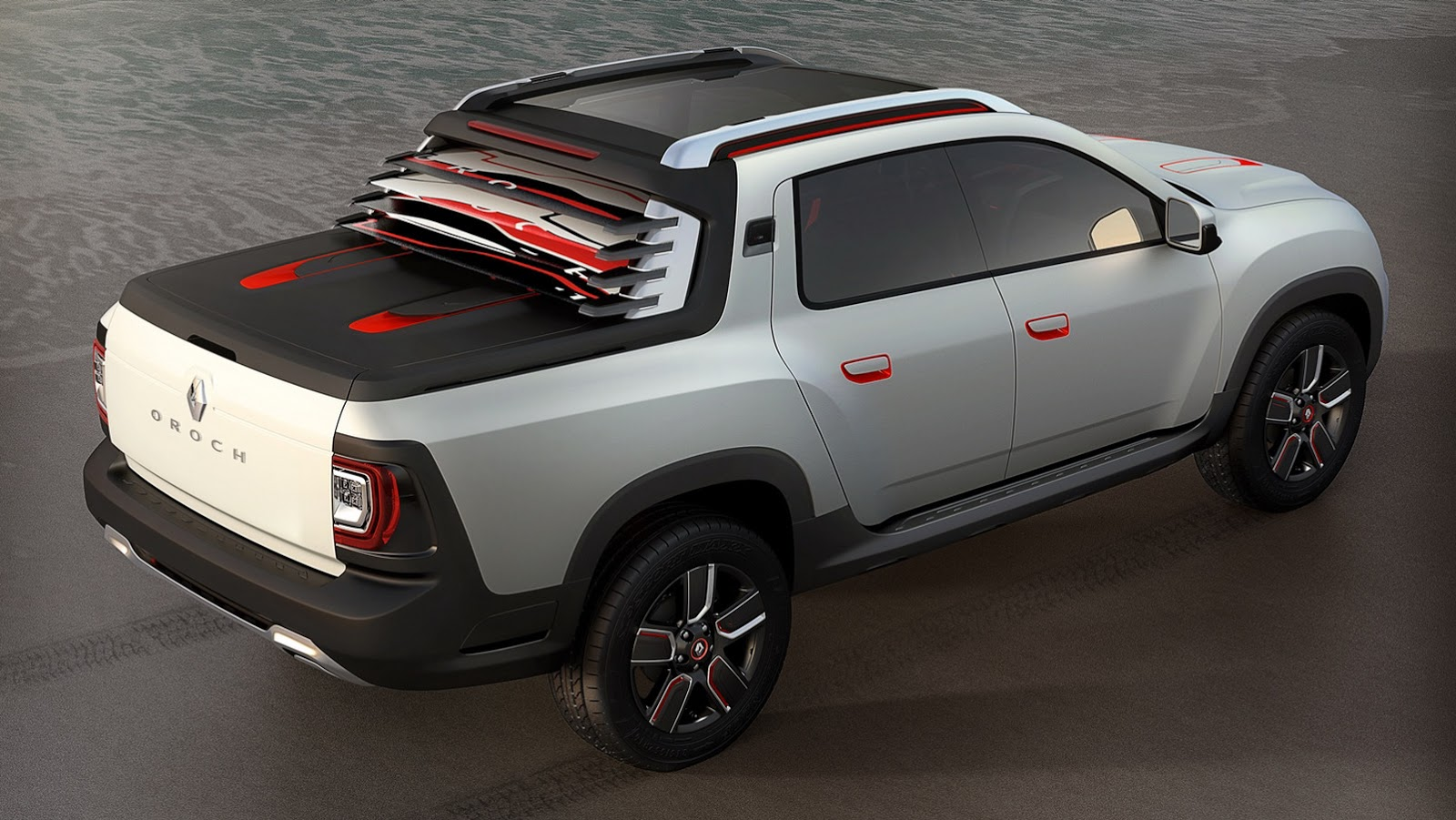 Renault Duster Oroch Concept Is a 4-Door Pickup [Video
