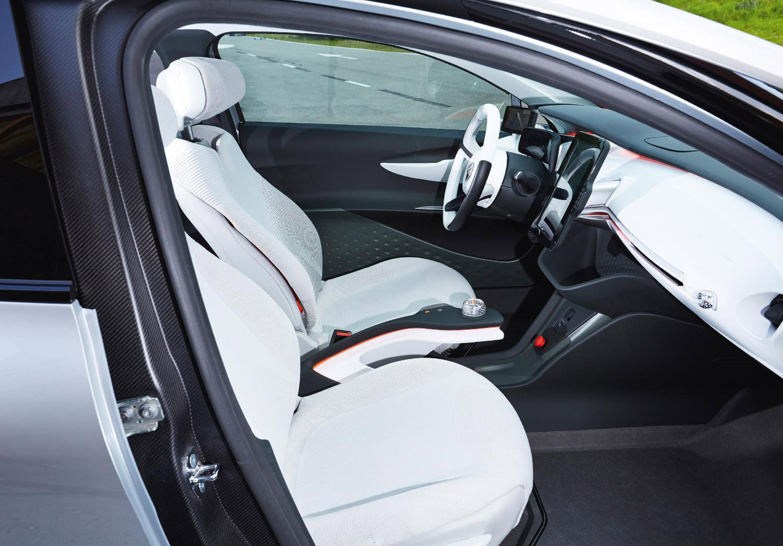 Передние сиденья Renault Eolab Concept