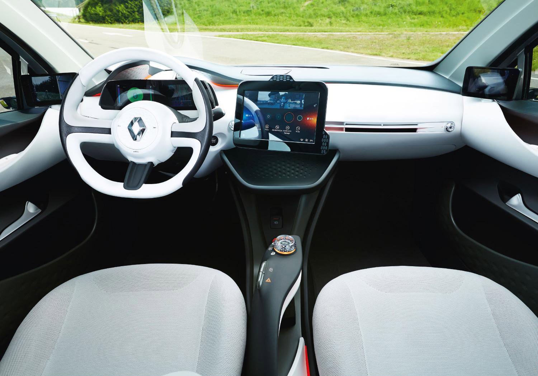 Фото салона Renault Eolab Concept