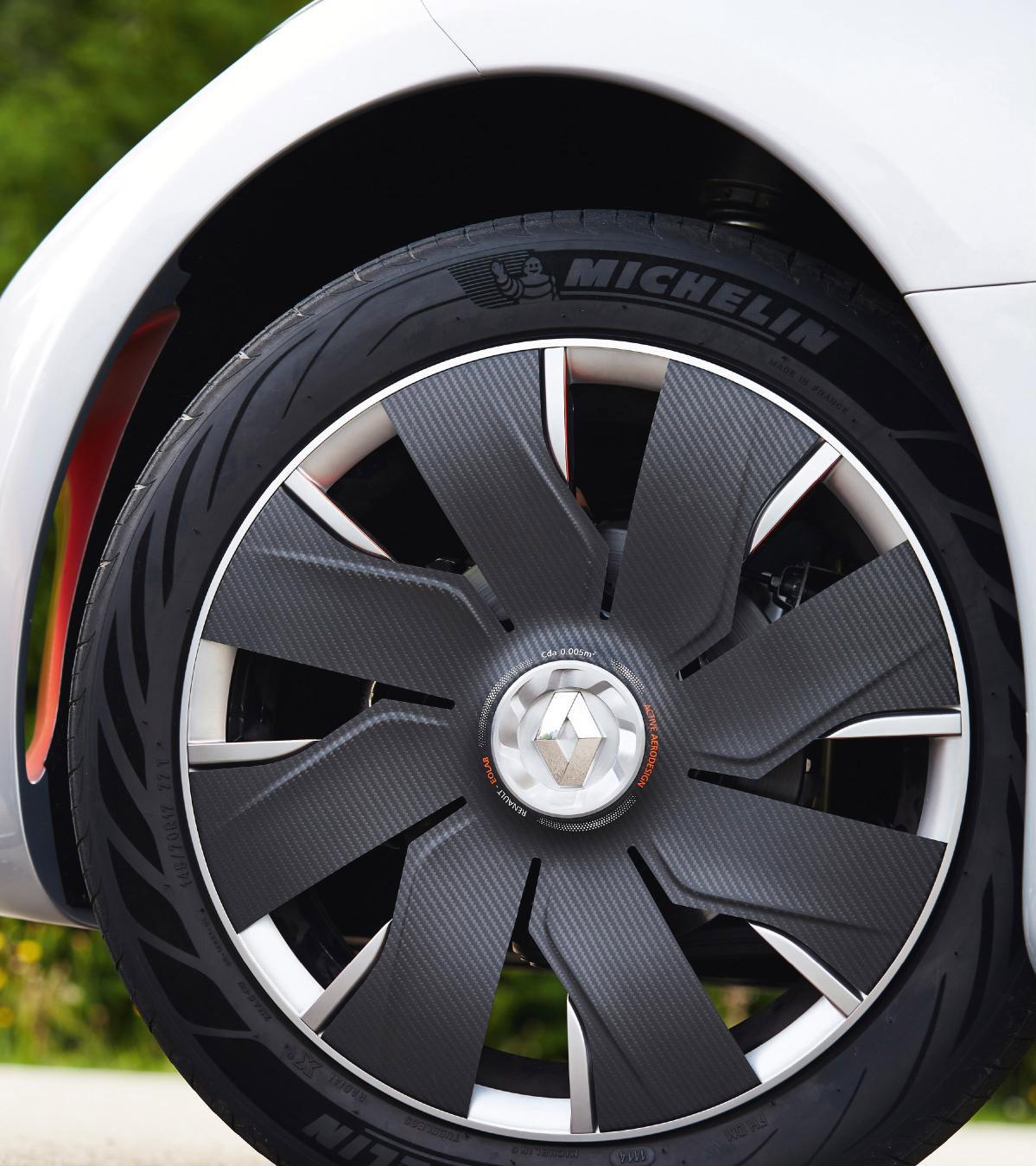 Аэродинамические колёса Renault Eolab