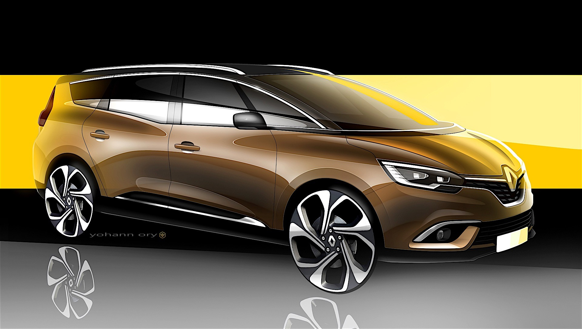 renault unveils new grand scenic you can have it with five or seven seats autoevolution. Black Bedroom Furniture Sets. Home Design Ideas