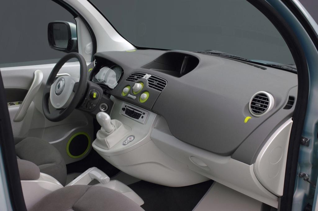 Renault kangoo be bop z e electric vehicle unveiled for Interieur kangoo